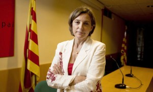 Catalan National Assembly's president, Carme Forcadell