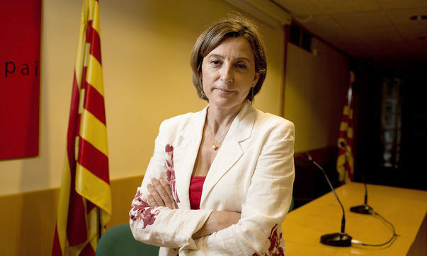 La presidenta de la Asamblea Nacional Catalana, Carme Forcadell