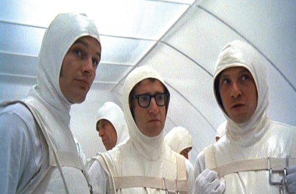 Fotograma de l'esquetx dels espermatozous de la pel·lícula de Woody allen Tot el que havies volgut saber sobre el sexe (però mai vas gosar preguntar)