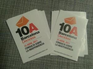 10 d'abril de 2011: Barcelona Decideix