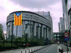 L'estelada al Parlament Europeu