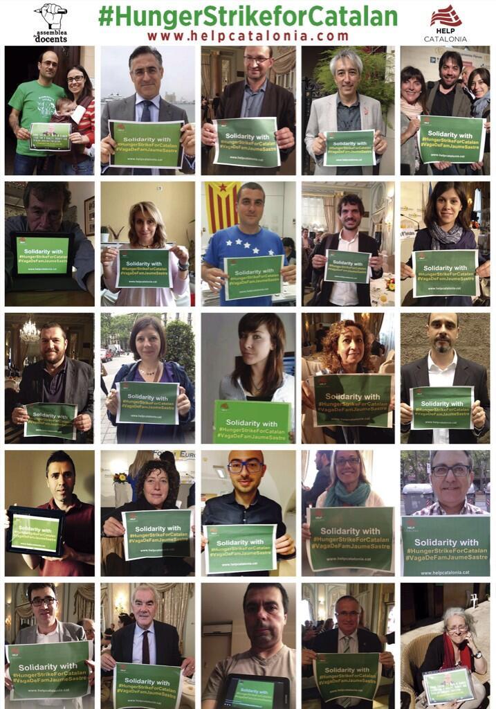 Solidaritat amb Jaume Sastre: Help Catalonia
