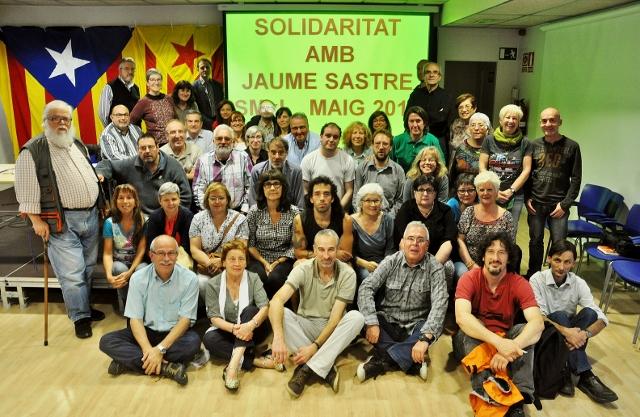 En solidaritat amb la vaga de fam de Jaume Sastre, 30 de maig