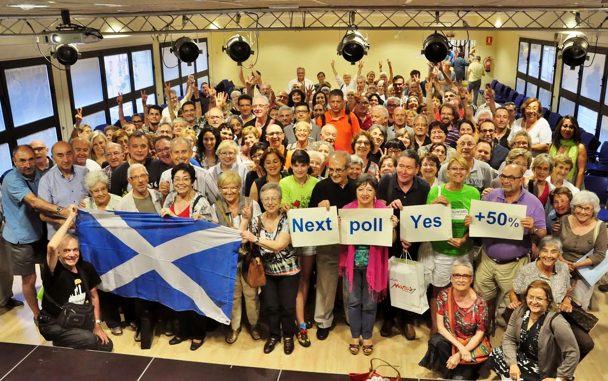Foto per a la campanya Solidarity with Scotland