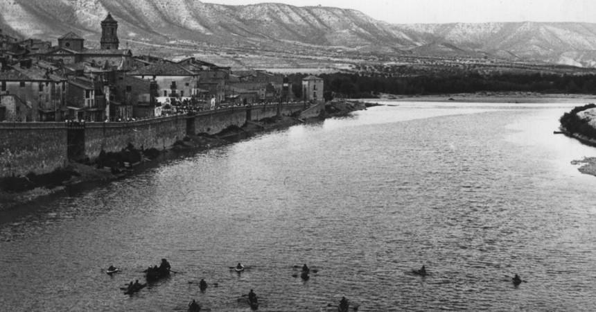 Mequinensa, al costat del riu, que és vida