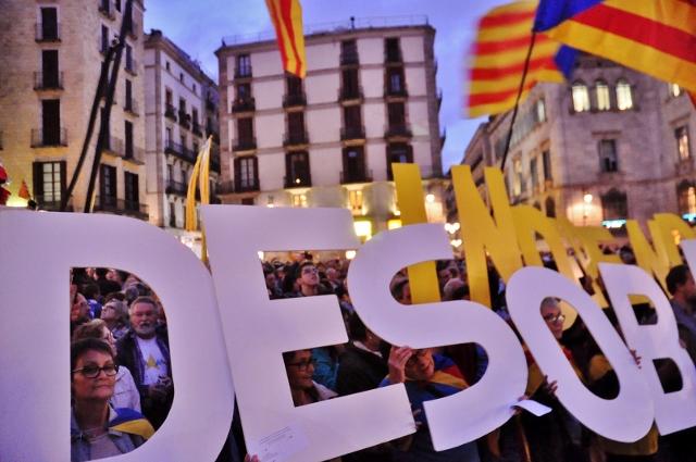 La desobediència portarà la independència