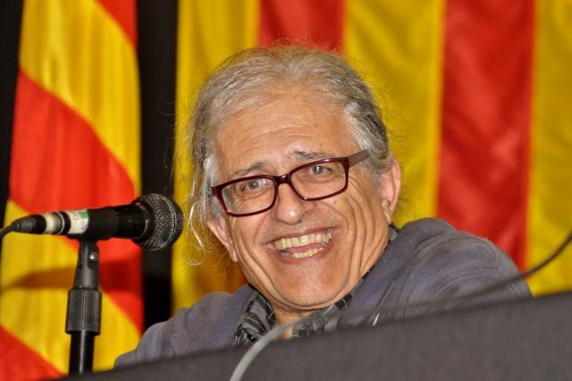 Ramòn Cotarelo a l'acte Catalunya: de la revolució a la República (foto de Josep-Lluís Gonzàlez publicada amb llicència oberta CC by-nc-sa)