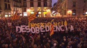 A punt 11 de Setembre de 2016 - Sants Montjuïc per la Independència