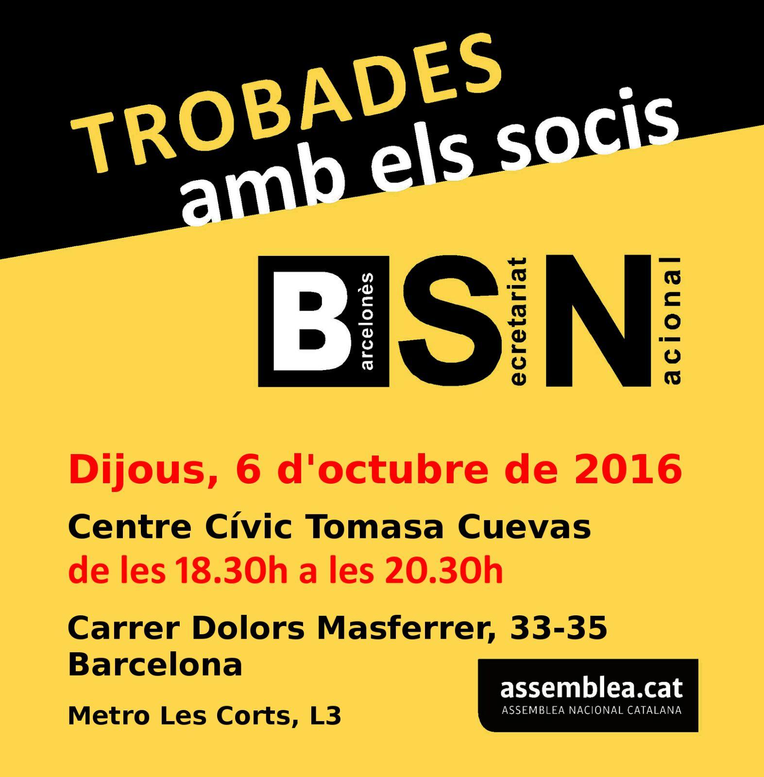 Assemblea BSN 6 octubre