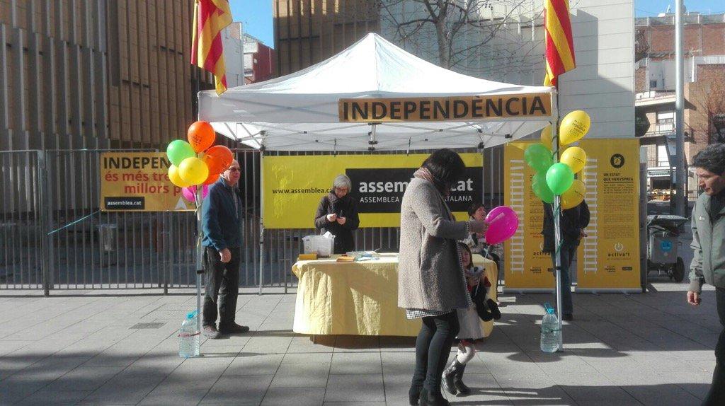 Parada a la plaça Espanyola