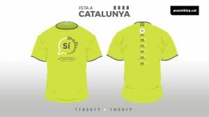 Samarreta Diada Nacional de Catalunya 2017